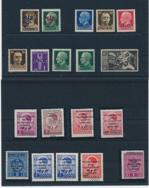 Italienische Gebiete ca.1880-1945 Spannender Posten