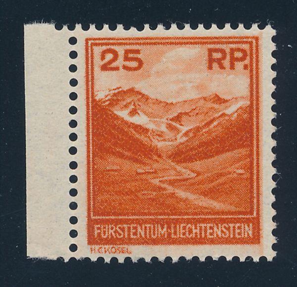 Liechtenstein Mi.Nr.119 ** postfrisch