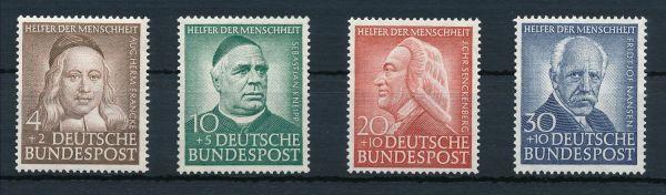 Bundesrepublik Mi.Nr.173-76 ** postfrisch geprüft