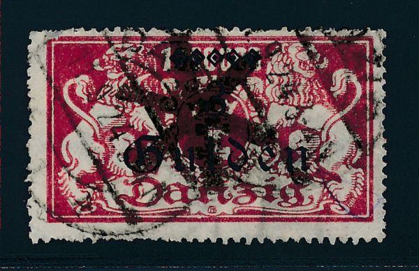 Danzig Mi.Nr.191 II gestempelt Luxus Fotoattest BPP