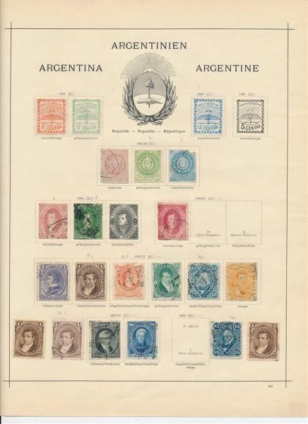 Argentinien Klassik bis Semiklassik Interess. Sammlung