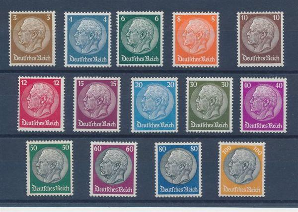 Deutsches Reich Mi.Nr.482-95 ** Luxus Fotoattest BPP