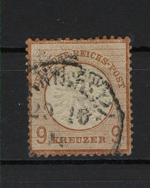 Deutsches Reich Mi.Nr.27a gestempelt geprüft BPP