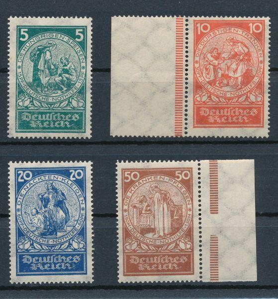 Deutsches Reich Mi.Nr.351-54 ** postfrisch