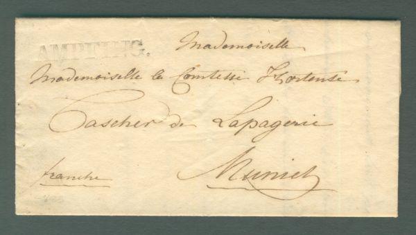 Ampfing mit Inhalt 1833 Vorphila/Altbeleg
