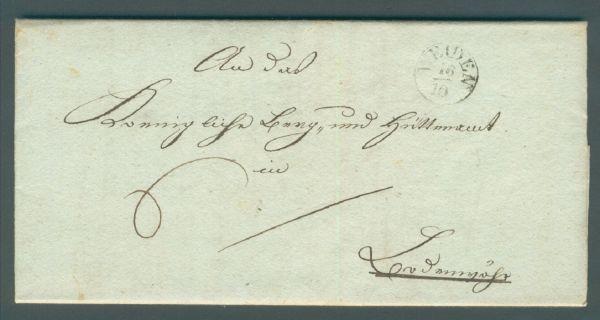 Weiden K 1 1834 mit Inhalt Vorphila/Altbeleg