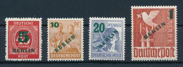 Berlin Mi.Nr. 64-67 ** postfrisch geprüft