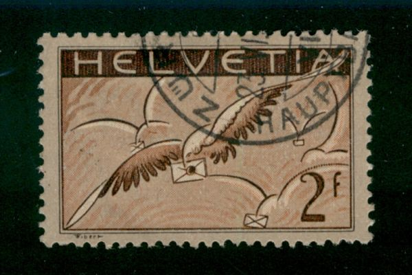 Schweiz Mi.Nr.245 X gestempelt Fotobefund Rellstab BPP