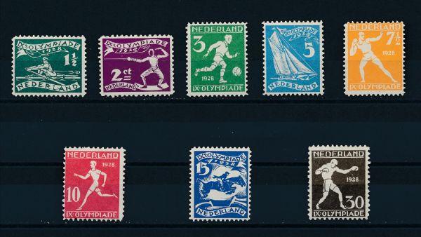 Niederlande Mi.Nr.205 - 12 * ungebraucht